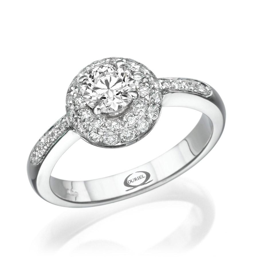 טבעת מעוגלת בעיצוב מודרני
