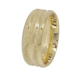 טבעת רחבה נוצצת לכלה