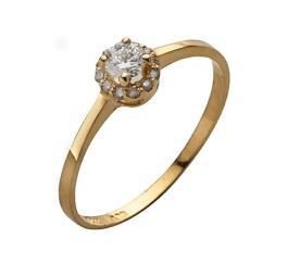 טבעת אירוסין דקה זהב לבן