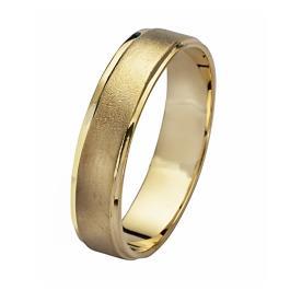 טבעת זהב פשוטה עדינה