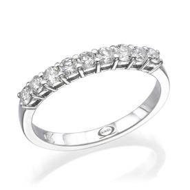 טבעת אירוסין אטרניטי שורה אחת