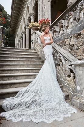 שמלת כלה מרשימה בגזרת בת ים