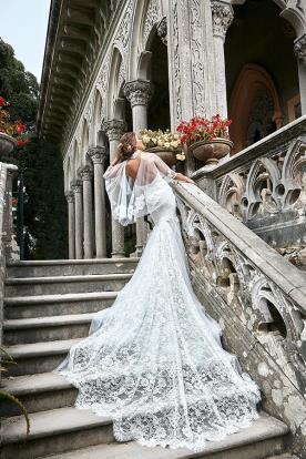 שמלת כלה מרשימה אלגנטית