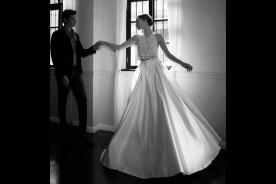 שמלת כלה נפוחה שני חלקים