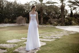שמלת כלה קלאסית חצאית מהאגן