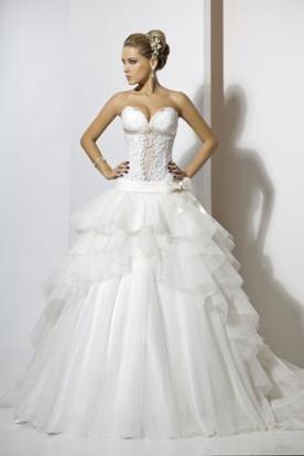 שמלת כלה מהאגדות למראה קסום
