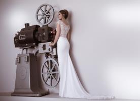 שמלת כלה קסומה למראה מלבב