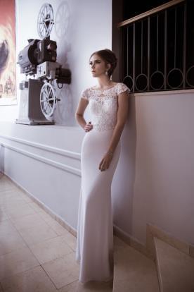 שמלת כלה אלגנטית למראה מלבב
