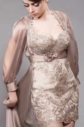 שמלת ערב מיני למראה אלגנטי