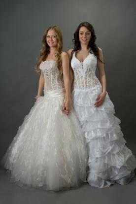 שמלות כלה למראה רומנטי