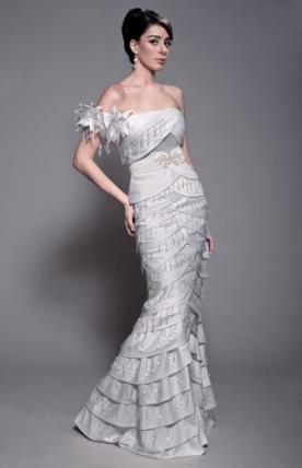 שמלת כלה הוט קוטור אלגנטית