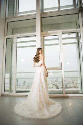 שמלת כלה עדינה בלתי נשכחת