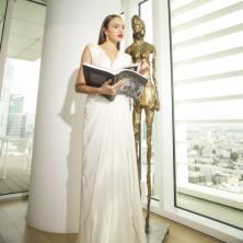 שמלת כלה לבנה ארוכה