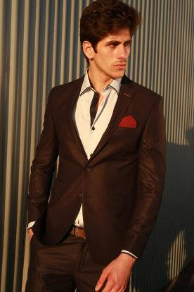 חליפת חתן- בלייזר אלגנטי מבריק