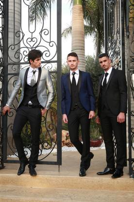 חליפות שלושה חלקים- קולקציית 2016