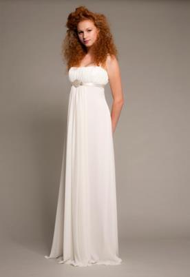 שמלת כלה וינטאג'ית משיפון