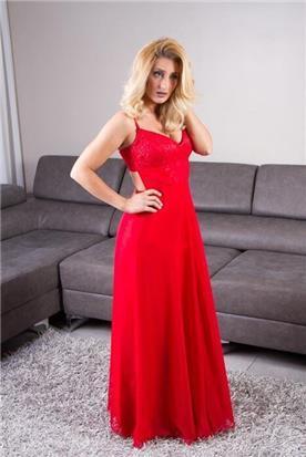 שמלת ערב עם גב חשוף