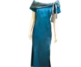 שמלת ערב צווארון גם קשירה