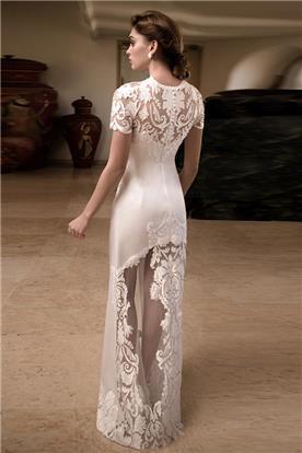 שמלת כלה עם שרוולים