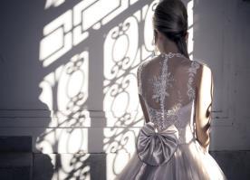 שמלת כלה בגווני כסף