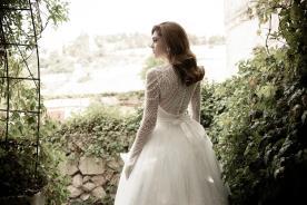 שמלת כלה צנועה חצאית נפוחה