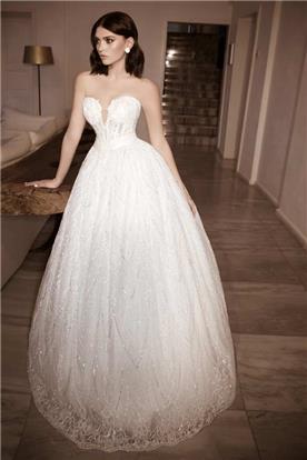 שמלת כלה נפוחה