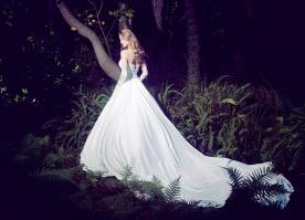 שמלת כלה מחוך עם שריכה