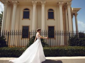 שמלת כלה מקסי רומנטית