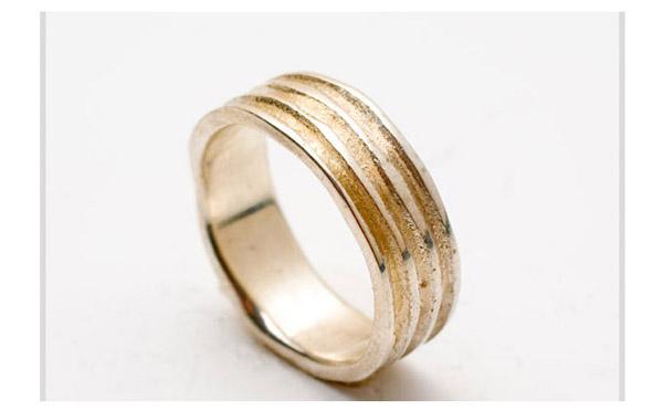 טבעת נישואין זהב עדין