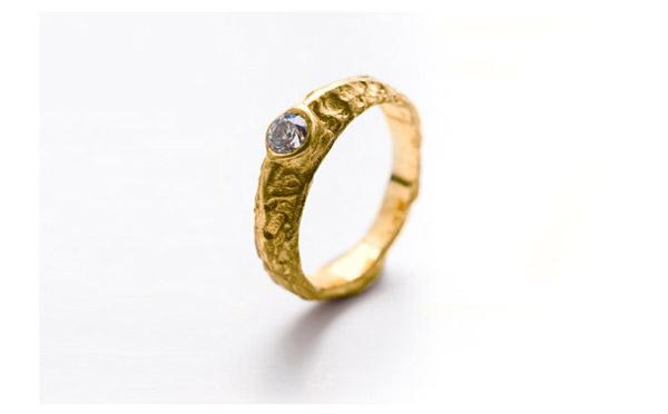 טבעת אירוסין ייחודית לכלה