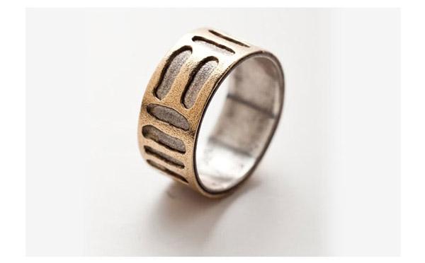 טבעת משולבת בעיצוב חדשני