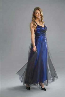 שמלת ערב עם טול