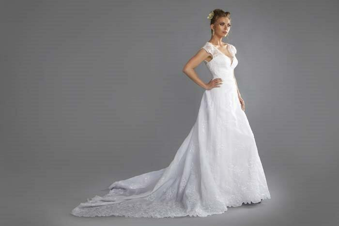 עידן בלבן שמלת כלה מיוחדת