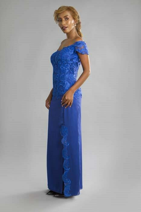 שמלת ערב בעיצוב פרטני
