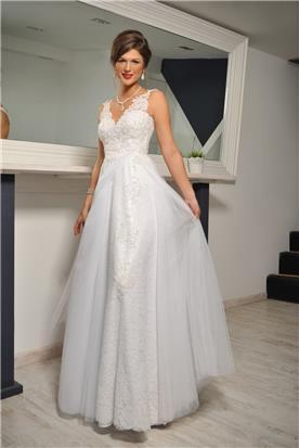 שמלת כלה בעיצוב פרטני