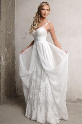 שמלת כלה חצאית תחרה