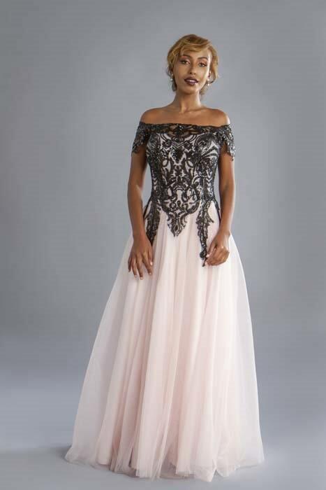 שמלת ערב מלכותית