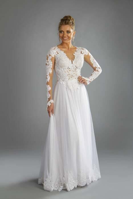 עידן בלבן שמלת כלה יוקרתית
