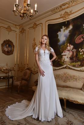 שמלת כלה קלאסית סגנון מחוך