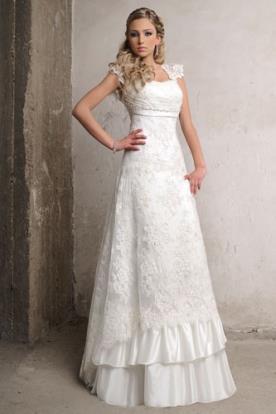 שמלת כלה בסגנון כפרי