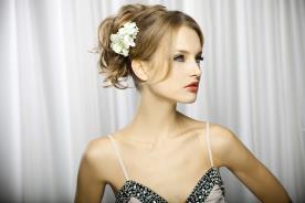 איפור ושיער בעיצוב רומנטי