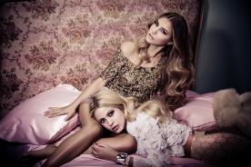 איפור ושיער בעיצוב רומנטי לכלות