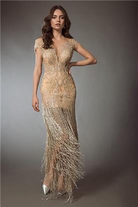 שמלת כלה זהובה