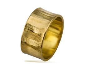 טבעת נישואין ריקועים לאורך