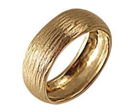 טבעת נישואין קמורה