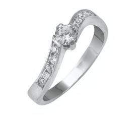 טבעת אירוסין עם פיתול