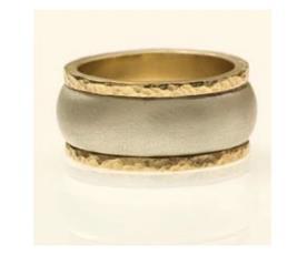 טבעת נישואין זהב צהוב קמור
