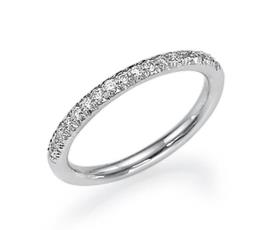 טבעת אירוסין אטרניטי דקה