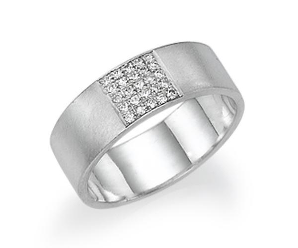 טבעת אירוסין אטרניטי רחבה