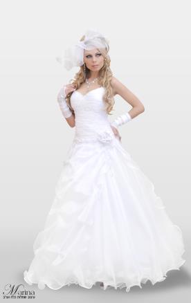 שמלת כלה מקסי נפוחה
